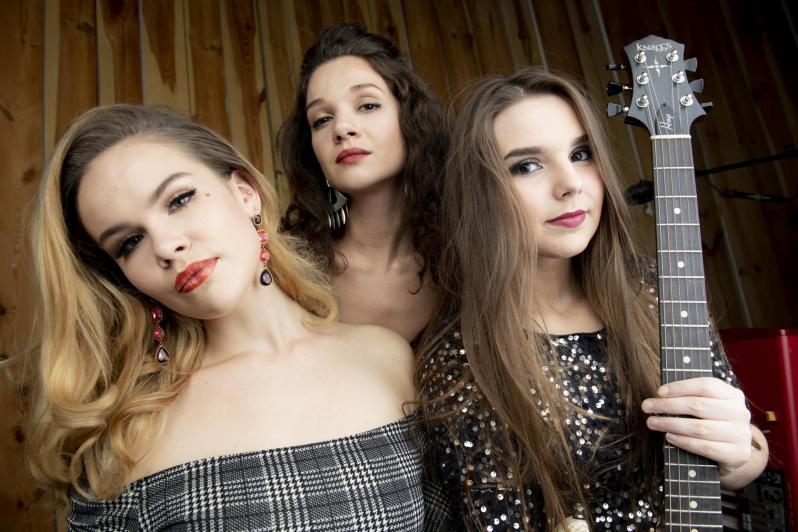 Ruf's Blues Caravan - Ina Forsman, Katarina Pejak, Ally Venable